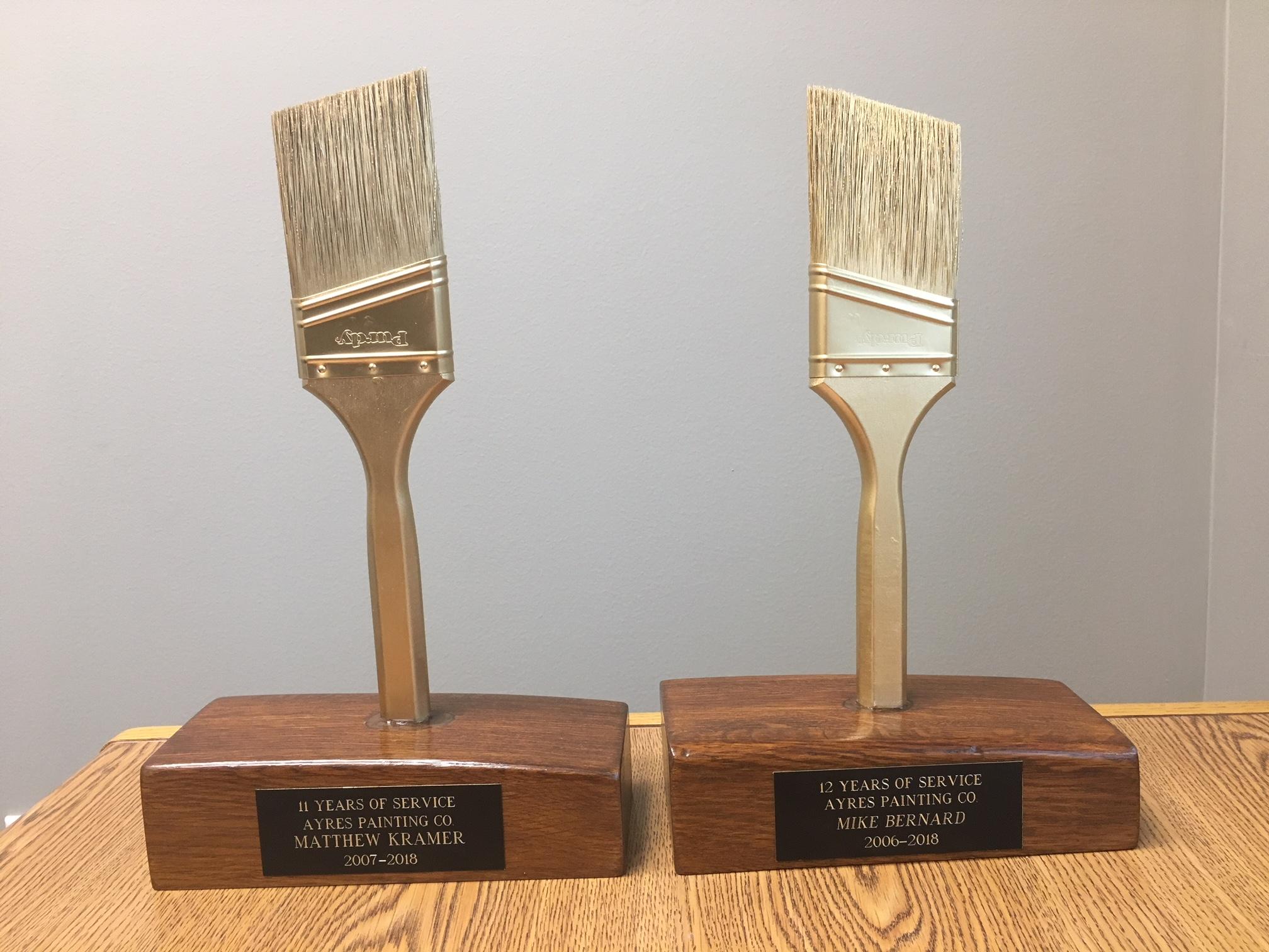 Golden brush award smaller